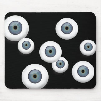 Rubber Eyeball Mouse Pad