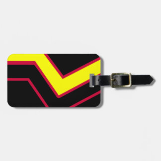 RUBBER LATEX PRIDE TRAVEL BAG TAGS