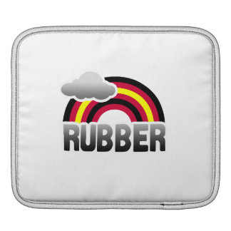 RUBBER PRIDE RAINBOW SLEEVES FOR iPads