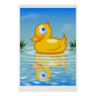 Rubber Quack Posters