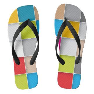 Rubber Sole Flip Flops