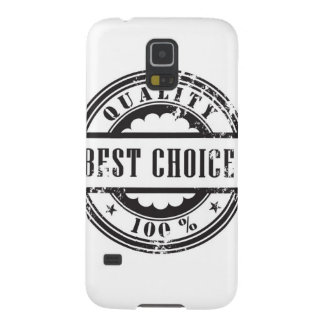 "Rubber stamp ""best choice"" in vector format galaxy s5 cover"