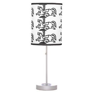 Rubber Stamp, Carousel Horse Table Lamp