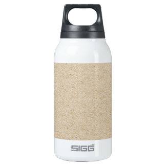rubber stamp insulated water bottle