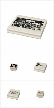 Rubber Stamps by EelKat