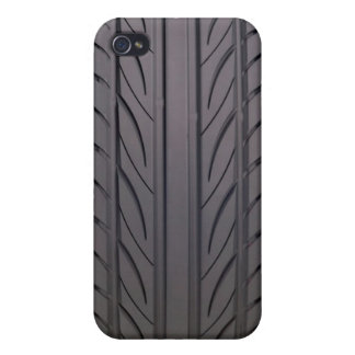 Rubber tire cover for iPhone 4