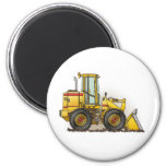 Rubber Tire Loader Construction Equipment 2 Inch Round Magnet