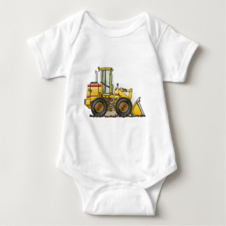 Rubber Tire Loader Construction Equipment Baby Bodysuit