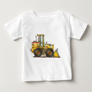 Rubber Tire Loader Construction Equipment Baby T-Shirt