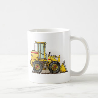 Rubber Tire Loader Construction Equipment Coffee Mug