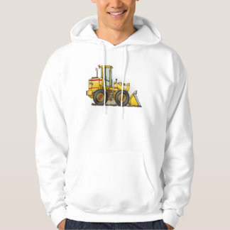 Rubber Tire Loader Construction Equipment Hoodie
