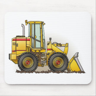 Rubber Tire Loader Construction Equipment Mouse Pads