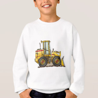 Rubber Tire Loader Construction Equipment Sweatshirt