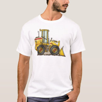 Rubber Tire Loader Construction Equipment T-Shirt