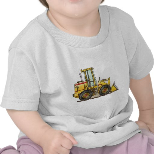 Rubber Tire Loader Construction Equipment Tees