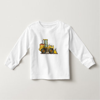 Rubber Tire Loader Construction Equipment Toddler T-shirt