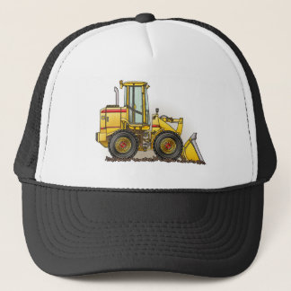 Rubber Tire Loader Construction Equipment Trucker Hat