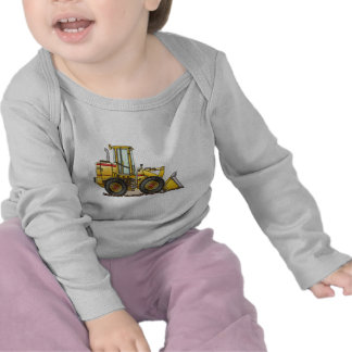 Rubber Tire Loader Construction Equipment Shirts