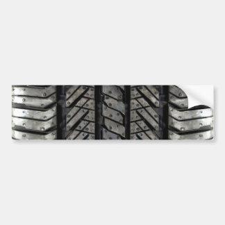 Rubber Tire Thread Automotive Style Decor Bumper Sticker