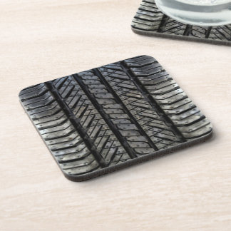 Rubber Tire Thread Automotive Style Decor Drink Coaster