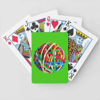 RubberbandBall RUBBERBAND BALL ELASTICS RANDOM COL Bicycle Playing Cards