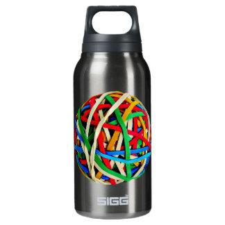 RubberbandBall RUBBERBAND BALL ELASTICS RANDOM COL Thermos Water Bottle