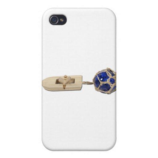 RubberBandBoatGlassFloat070911 iPhone 4 Cárcasas