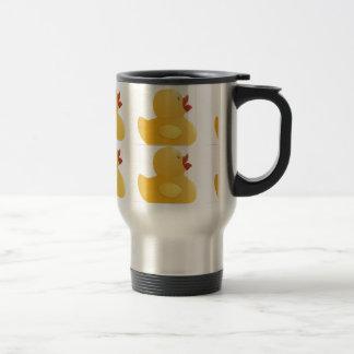 Rubberduck amarillo taza de viaje