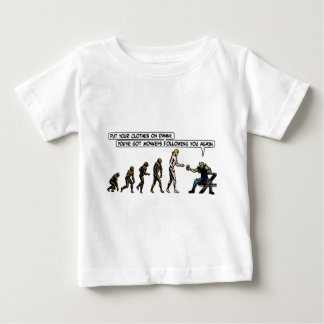 Rubbernorc Evolution Baby T-Shirt