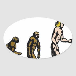 Rubbernorc Evolution Oval Sticker