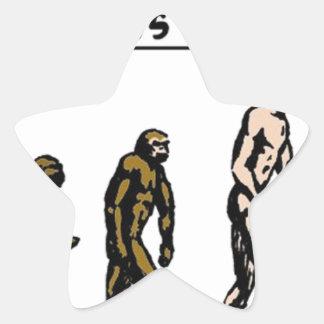Rubbernorc Evolution Star Sticker