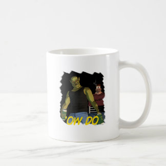 """Rubbernorc """"Ow Do"""" with Nogl and Chubb Coffee Mug"""