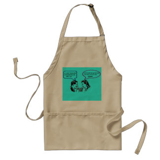 Rubbing Out Snitches Recession Humor BBQ Apron