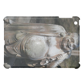 Rubbing the Laughing Buddha's Belly for Luck Cover For The iPad Mini