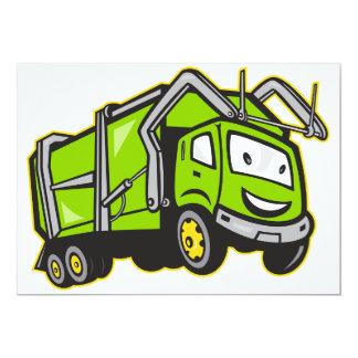 Rubbish Truck Invitations