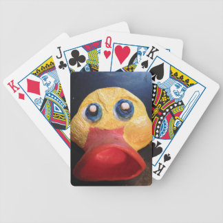 Rubby Ducky Bicycle Playing Cards