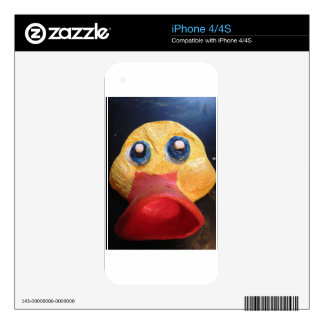 Rubby Ducky Skins For iPhone 4
