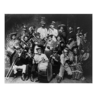 Rube Band, 1908 Poster