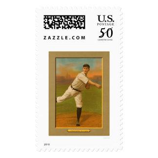 Rube Manning Yankees Baseball 1911 Postage