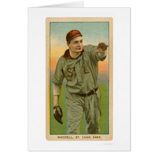 Rube Waddell Baseball 1909 Card