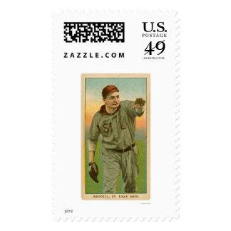 Rube Waddell Baseball 1909 Stamps
