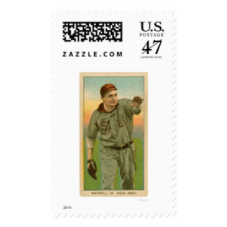 Rube Waddell Baseball 1909 Postage Stamp
