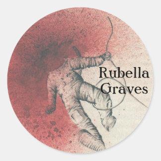 Rubella Graves sticker 1
