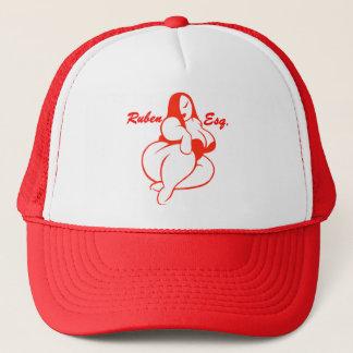 Ruben Esq Logo Trucker Hat (Red)
