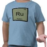 Ruben Name Chemistry Element Periodic Table T Shirt