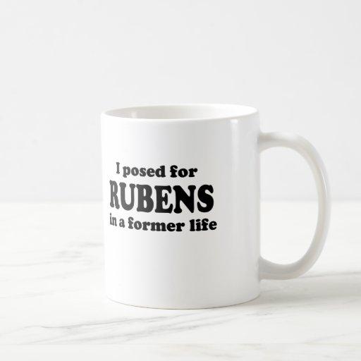Rubens Model Classic White Coffee Mug