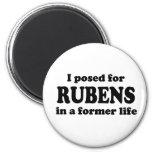 Rubens Model Fridge Magnet