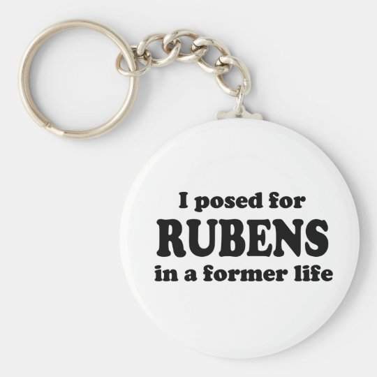 Rubens Model Keychain