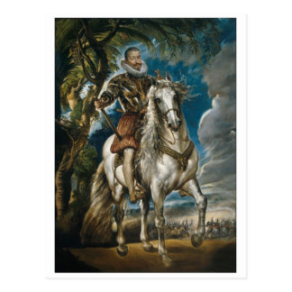 Rubens painting The Duke of Lerma Postcard
