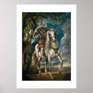 Rubens painting: The Duke of Lerma Print